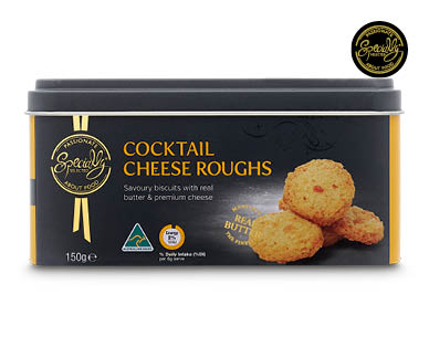 Specially Selected Cocktail Cheese Roughs in Tin 150g