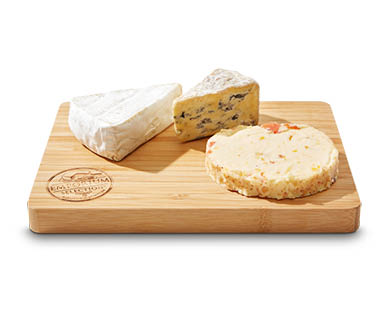 Emporium Selection Cheese Platter with Wooden Board 310g