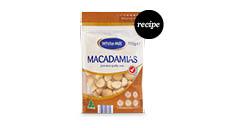 White Mill Baking Nuts - Macadamia Halves 110g