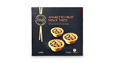 Specially Selected Mini Christmas Tarts 9pk/270g - Ameretto Fruit Mince