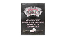 Ultimate English Sweets 150g – Strawberry and Vanilla Coconut Ice