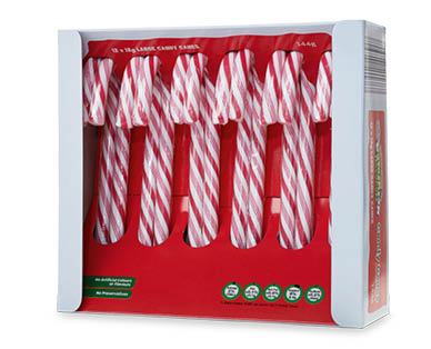 Dominion Naturals Candy Canes 12pk 144g