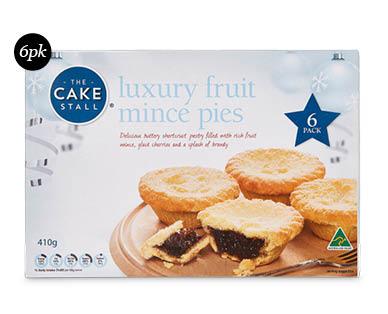 Luxury Fruit Mince Pies 6pk/410g
