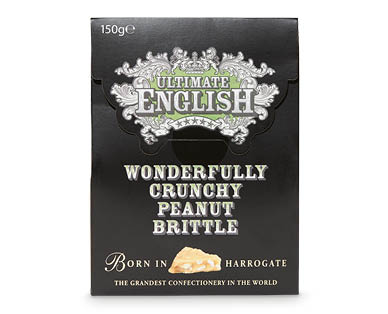 Ultimate English Sweets 150g – Peanut Brittle