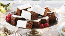Aldi christmas cake slices round