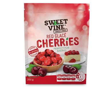 Sweet Vine Glacé Cherries 200g