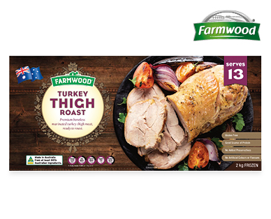 Farmwood Turkey Thigh Roast 2kg