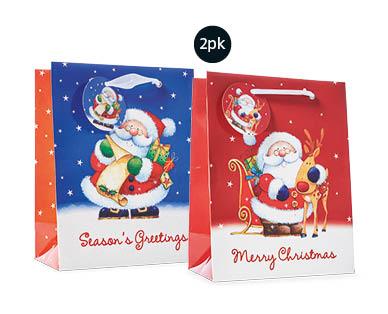 extra large christmas gift bags 2pk aldi australia