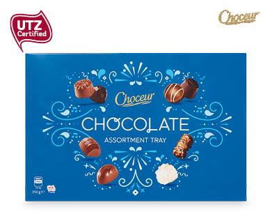 Choceur Chocolate Assortment Tray 350g