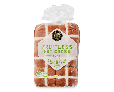 Bakers Life Fruitless Hot Cross Buns
