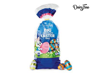 Dairy Fine Big Bag Chocolate Eggs 500g