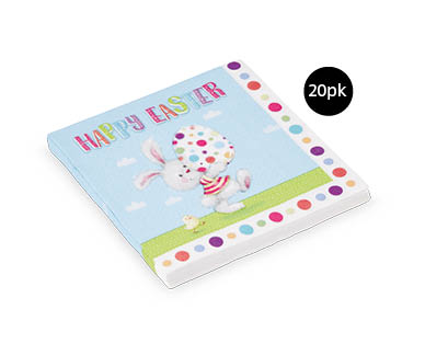 Easter Paper Lunch Napkins20pk