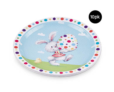 Easter Paper Plates 10pk
