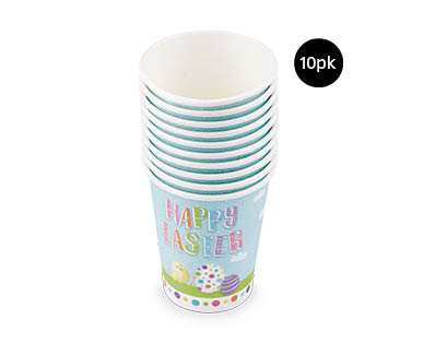 Easter Paper Cups 10pk