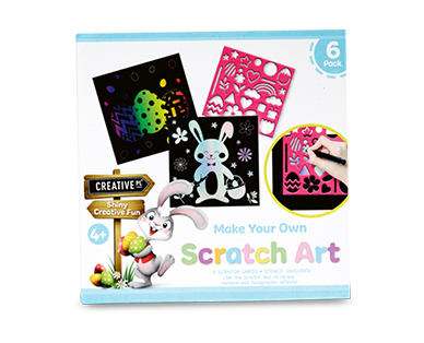 Easter Scratch Art Pack