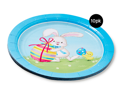 Easter Paper Tableware - Paper Plates