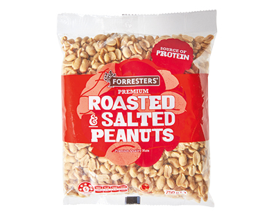 Forresters Roasted & Salted Peanuts 750g