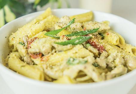 Creamy Chicken Pesto Pasta Recipe Aldi Australia