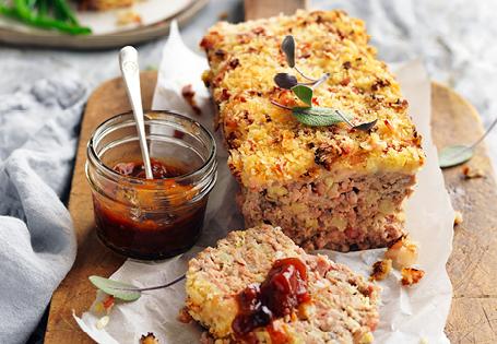 Christmas Meatloaf.Pork Apple Bacon Meatloaf Aldi Australia