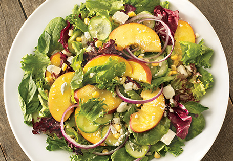 Sensational Salad with Peaches & Feta ALDI Australia