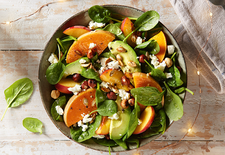 Pumpkin, Peach and Avocado Salad ALDI Australia