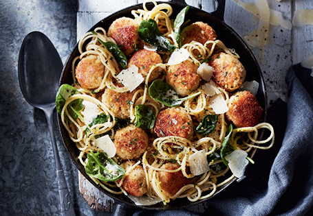 Lemon Herb Chicken Meatballs Aldi Australia