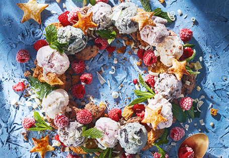 Ice Cream Wreath Recipe Aldi Australia
