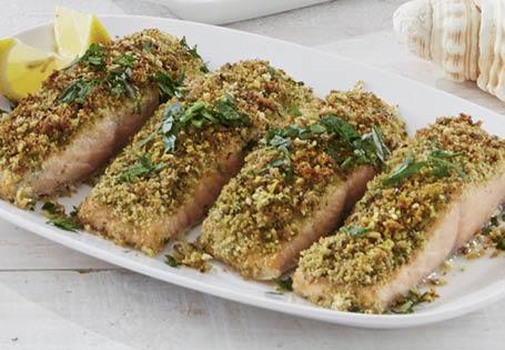 Herb Crusted Salmon Fillet - ALDI Australia