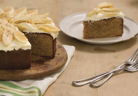 Banana cake recipe white chocolate
