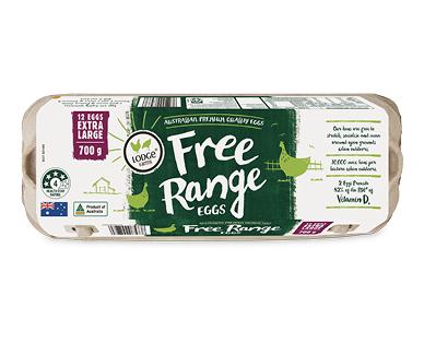Lodge Farms Free Range Eggs 700g
