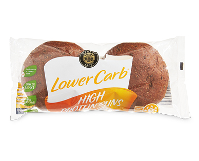 Bakers Life Lower Carb High Protein Burger Buns 140g/2pk