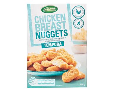 Farmwood Tempura Chicken Nuggets 400g