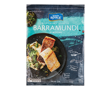 Ocean Royale Barramundi Portions 1kg