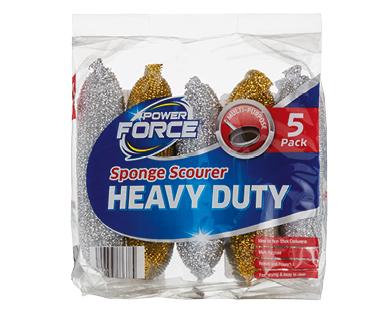 Power Force Multi Purpose Sponge Scourer 5pk