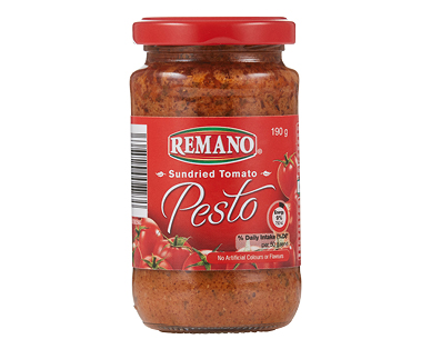 Remano Pesto Sundried Tomato 190g