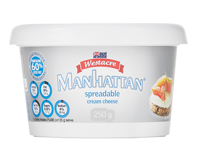 Westacre Spreadable Cream Cheese 250g