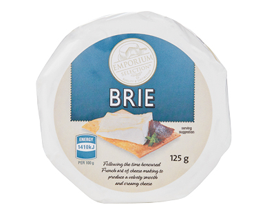 Emporium Selection Brie Cheese 125g
