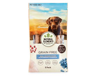 Natural Elements Pet Nutrition Dog Grain Free Sticks 5pk