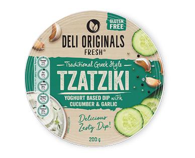 Deli Originals Tzatiki Dip 200g