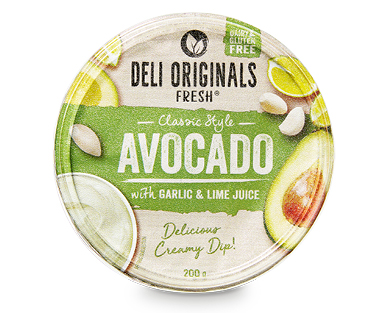 Deli Originals Fresh Avocado Dip 200g