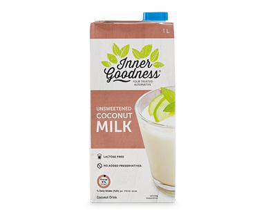 Inner Goodness Unsweetened Coconut Milk 1L