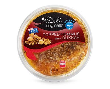 Deli Originals Topped Hommus 200g
