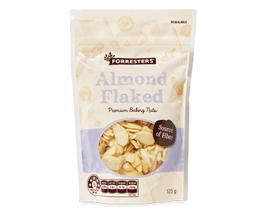 Forresters Baking Nuts Almond 125g