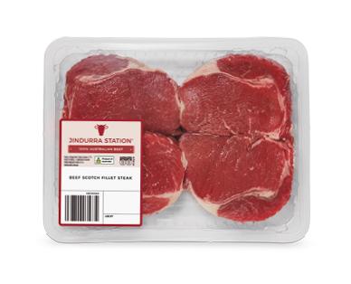 Jindurra Station Beef Scotch Fillet Steak per kg