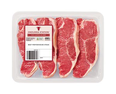 Jindurra Station Beef Porterhouse per kg