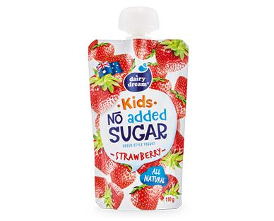 Dairy Dream Yogurt Pouch Strawberry 110g