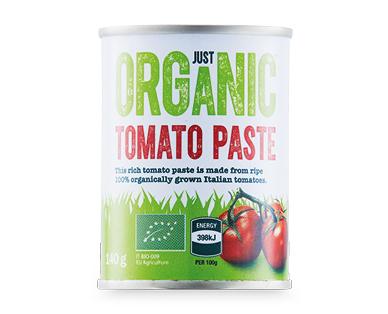 Just Organic Tomato Paste 140g