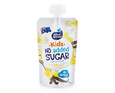 Dairy Dream Yogurt Pouch Vanilla 110g