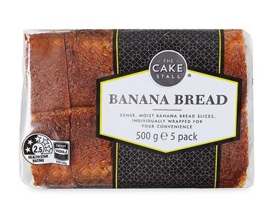 The Cake Stall Banana Bread 5pk 500g