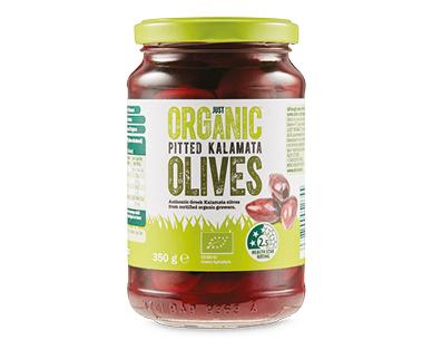 Just Organic Pitted Kalamata Olives 350g